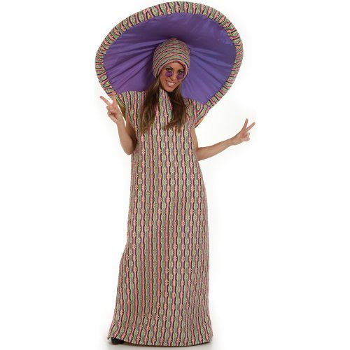 Psychedelic Mushroom Adult Costume One-Size (Standard)