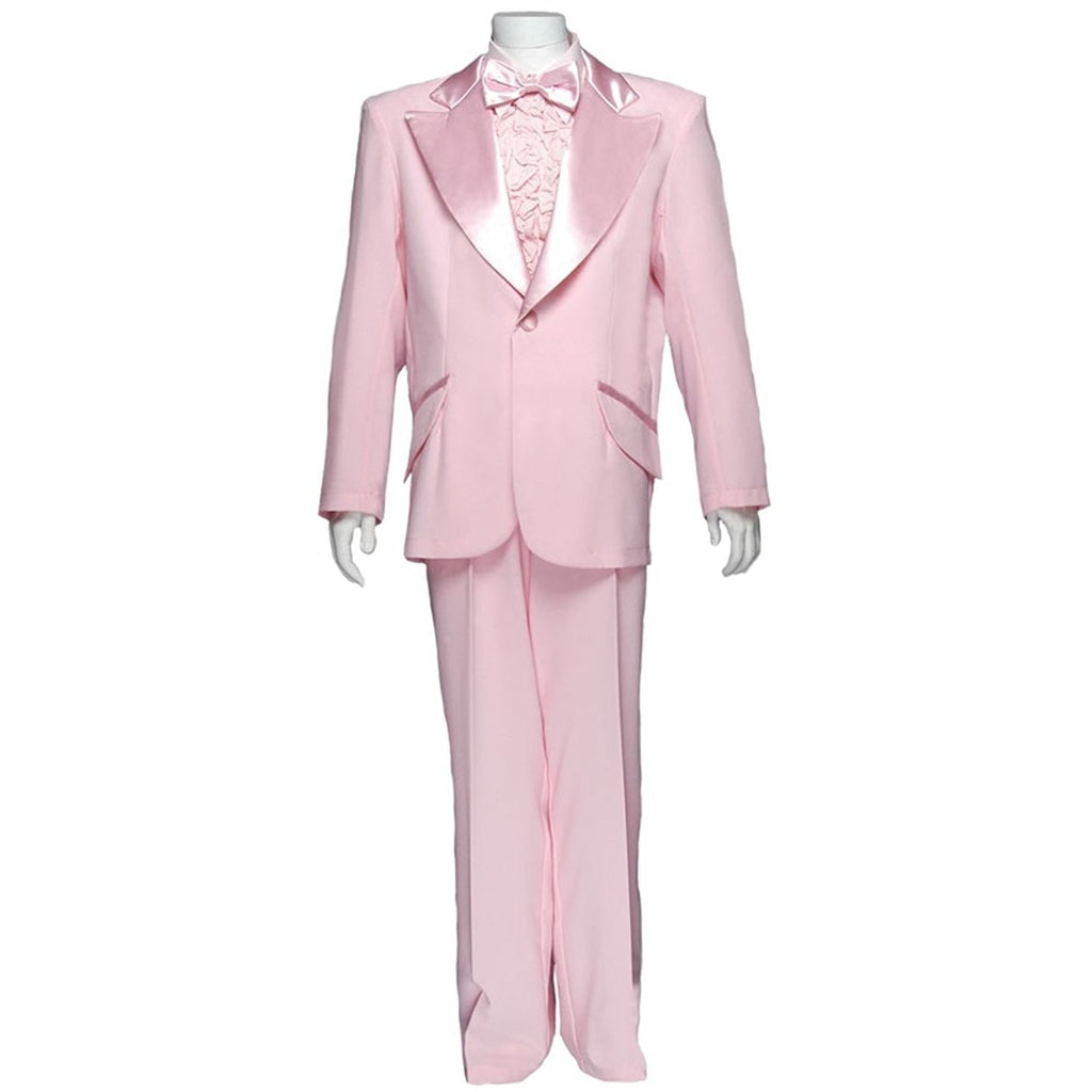 Men's Formal Adult Deluxe Tuxedo w/o Shirt, Pink