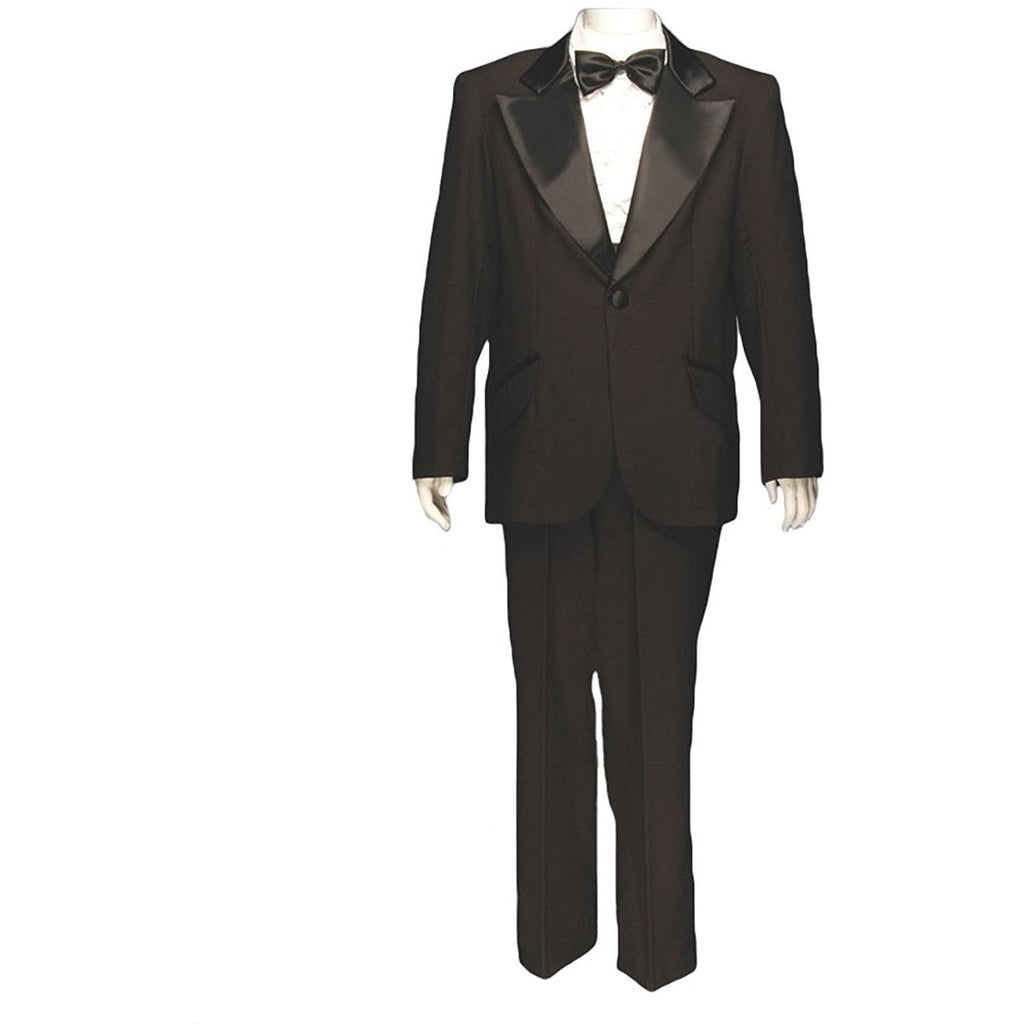 Men's Formal Adult Deluxe Tuxedo w/o Shirt, Black