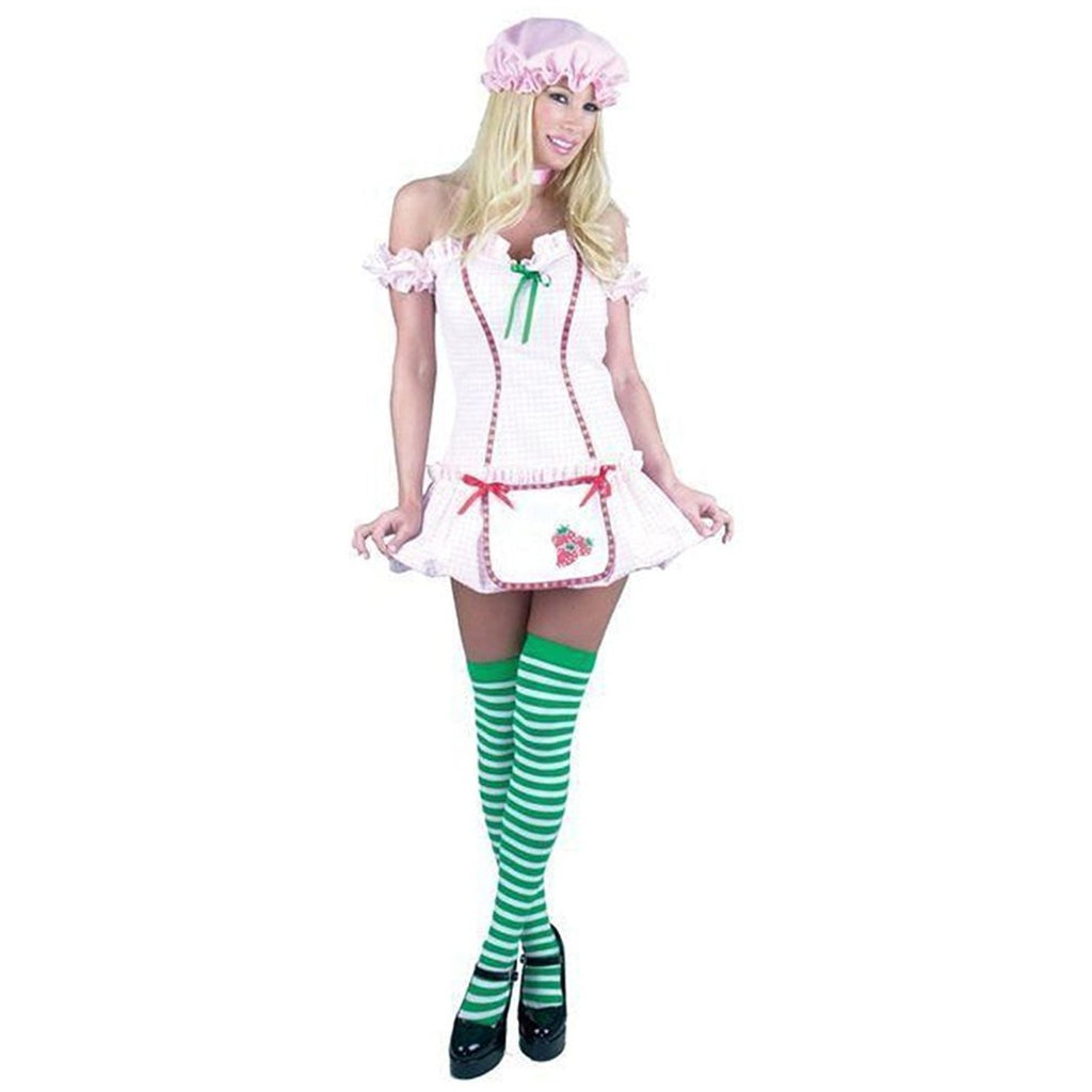 Strawberry Girl Costume - Small - Dress Size 5-7