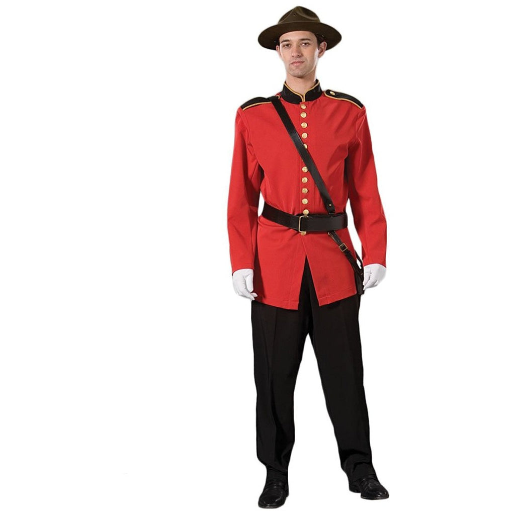 Tabi's Characters Men's Canadian Mountie Uniform Costume