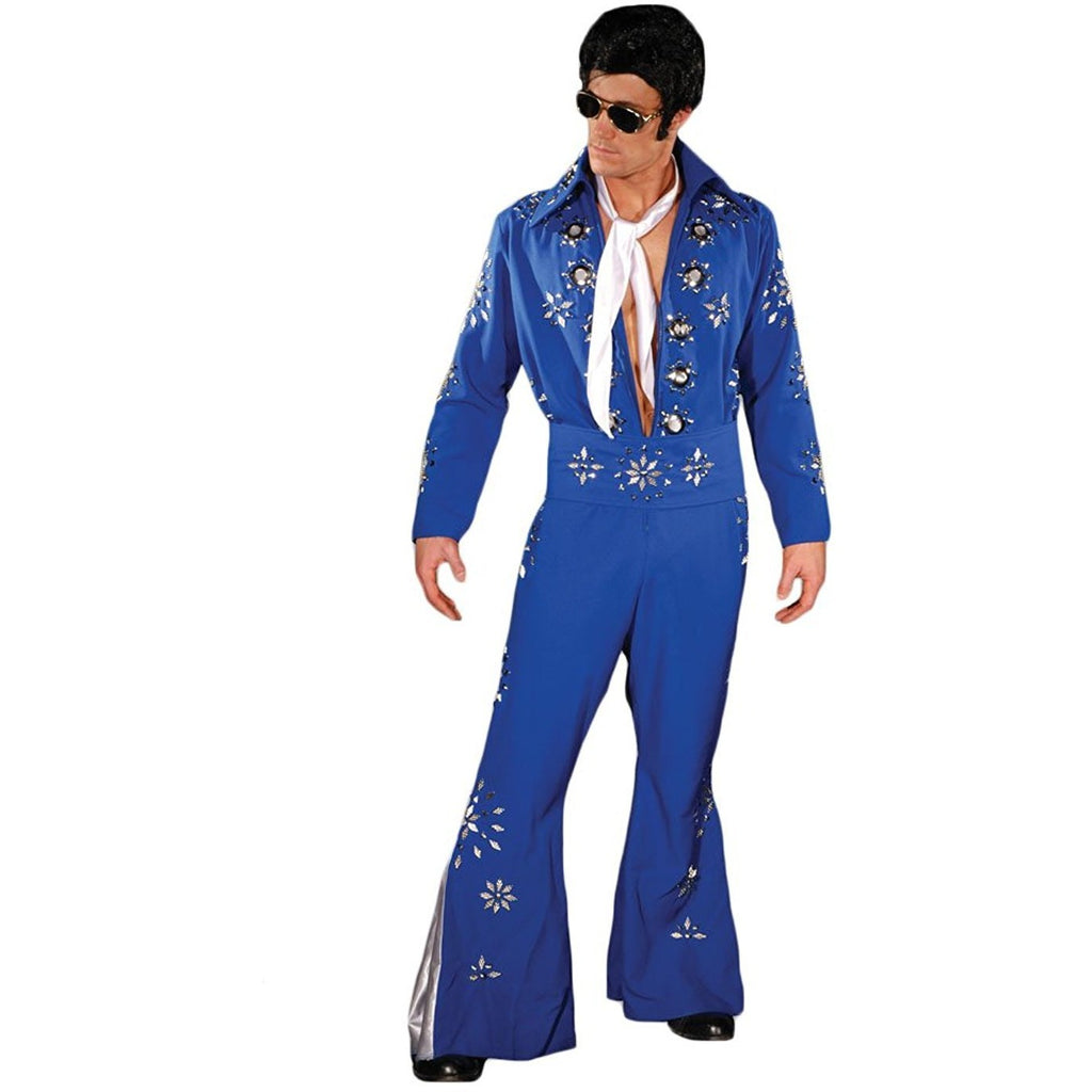 Men's Deluxe Elvis Jumpsuit Costume