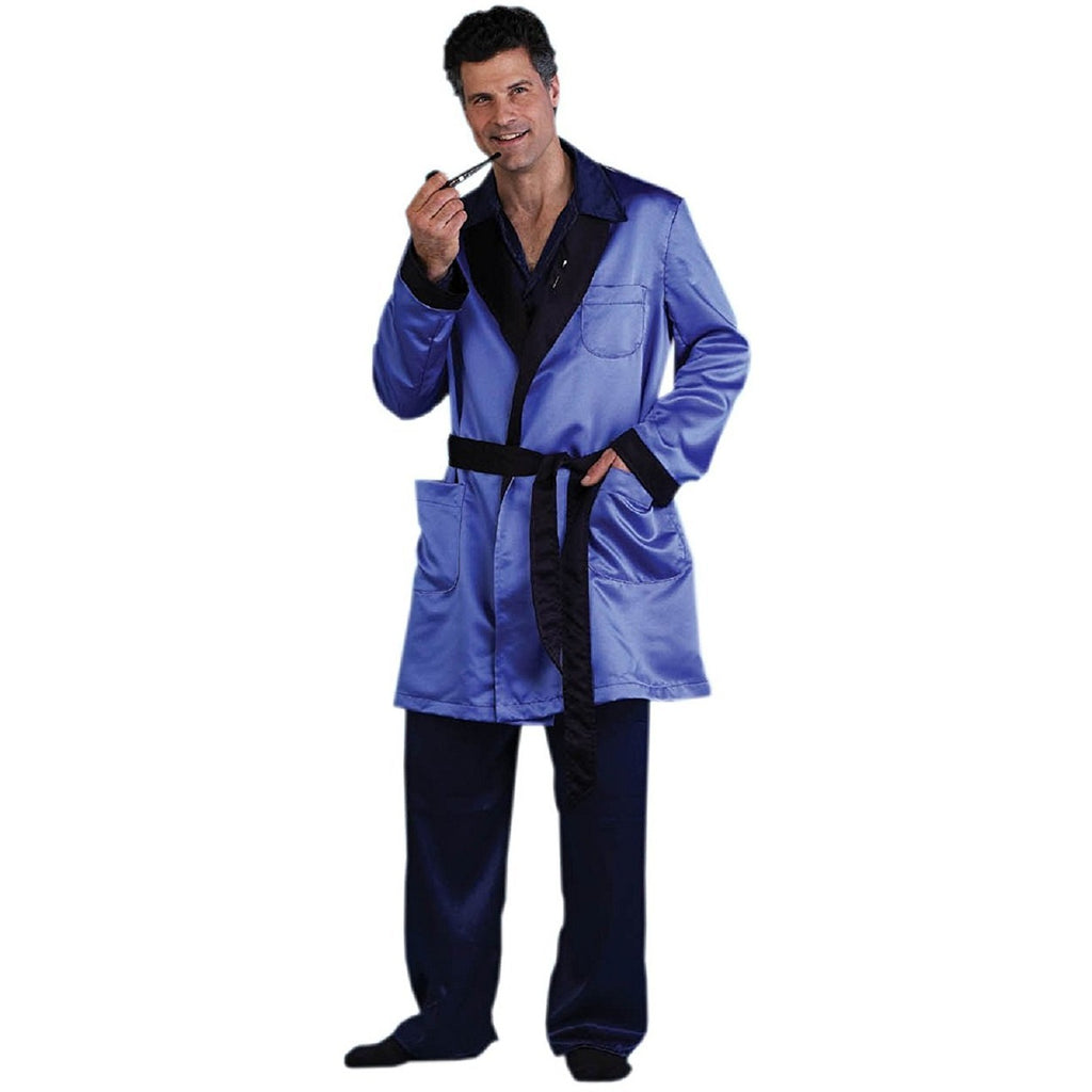Men's Magazine Publisher Robe and Pajamas Costume