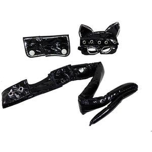 Sexy Cat Kit (Black) Adult One Size