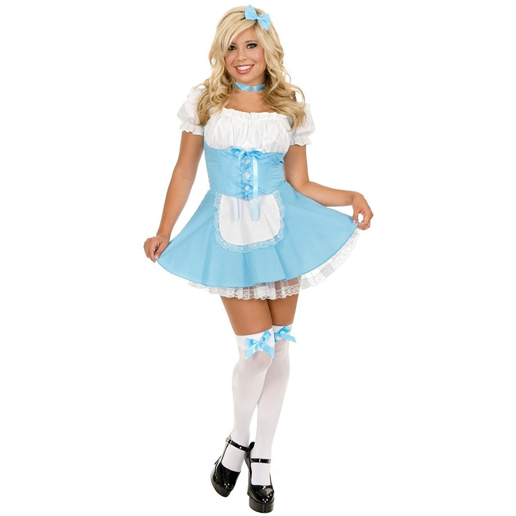 Sexy and Fun Alice Costume with attached petticoat