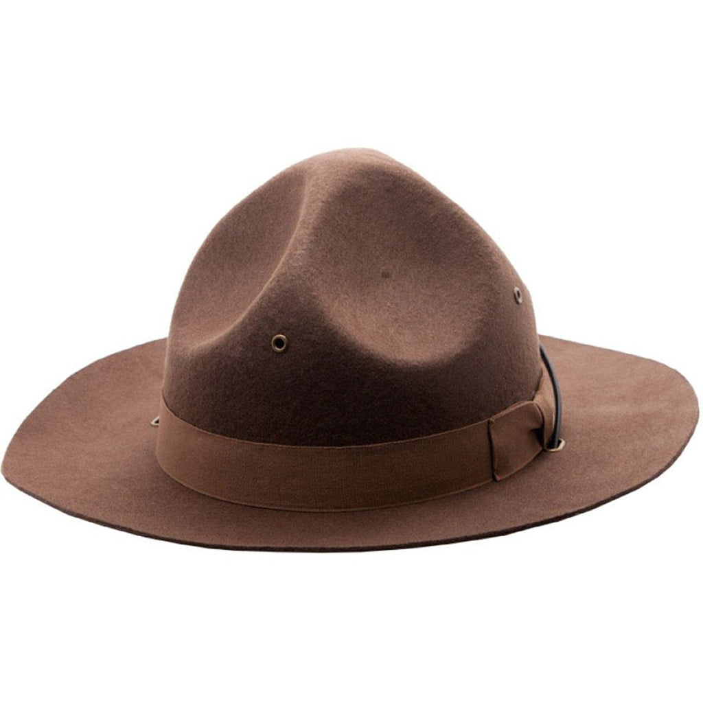 Jacobson Hat Company Men's Adult Wool Felt Mountie