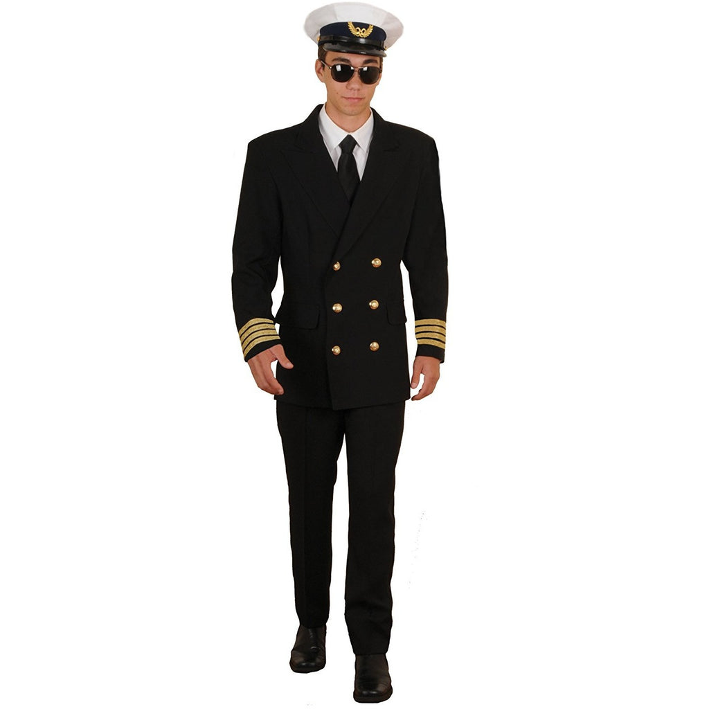 Tabi's Characters Men's Retro Airline Pilot