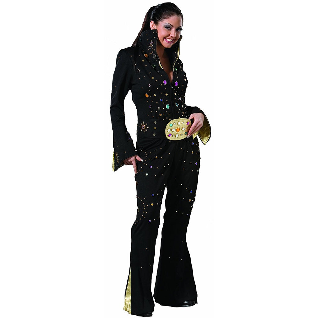 Tabi's Characters Women's Rocker Elvis Impersonator Jumpsuit