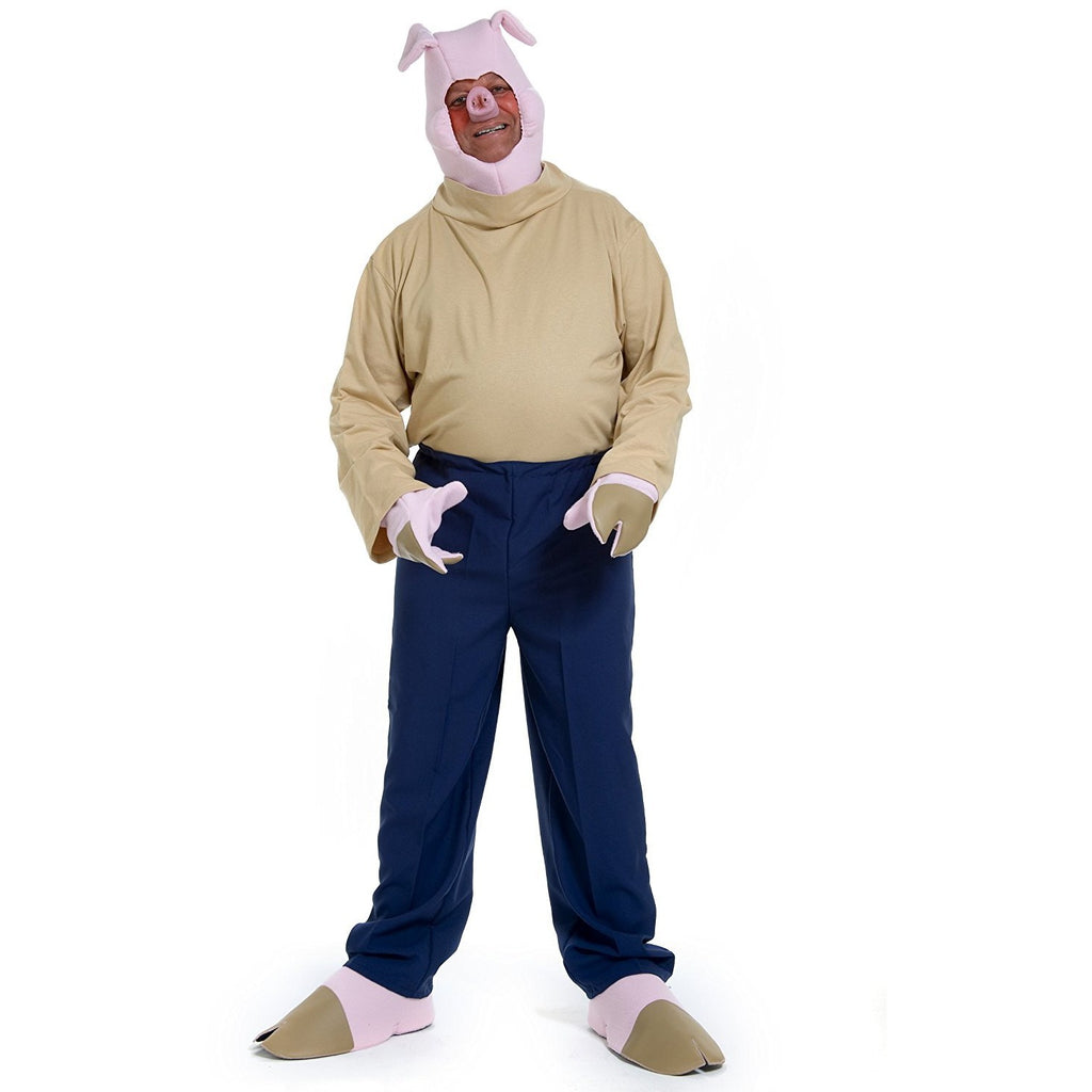 Lets Party By Peter Alan, Inc Little Pig 1- Adult Costume / Pink - One Size