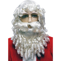 Santa Wig And Beard Set