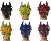 Crystal Dragon Mask - Supersoft Latex
