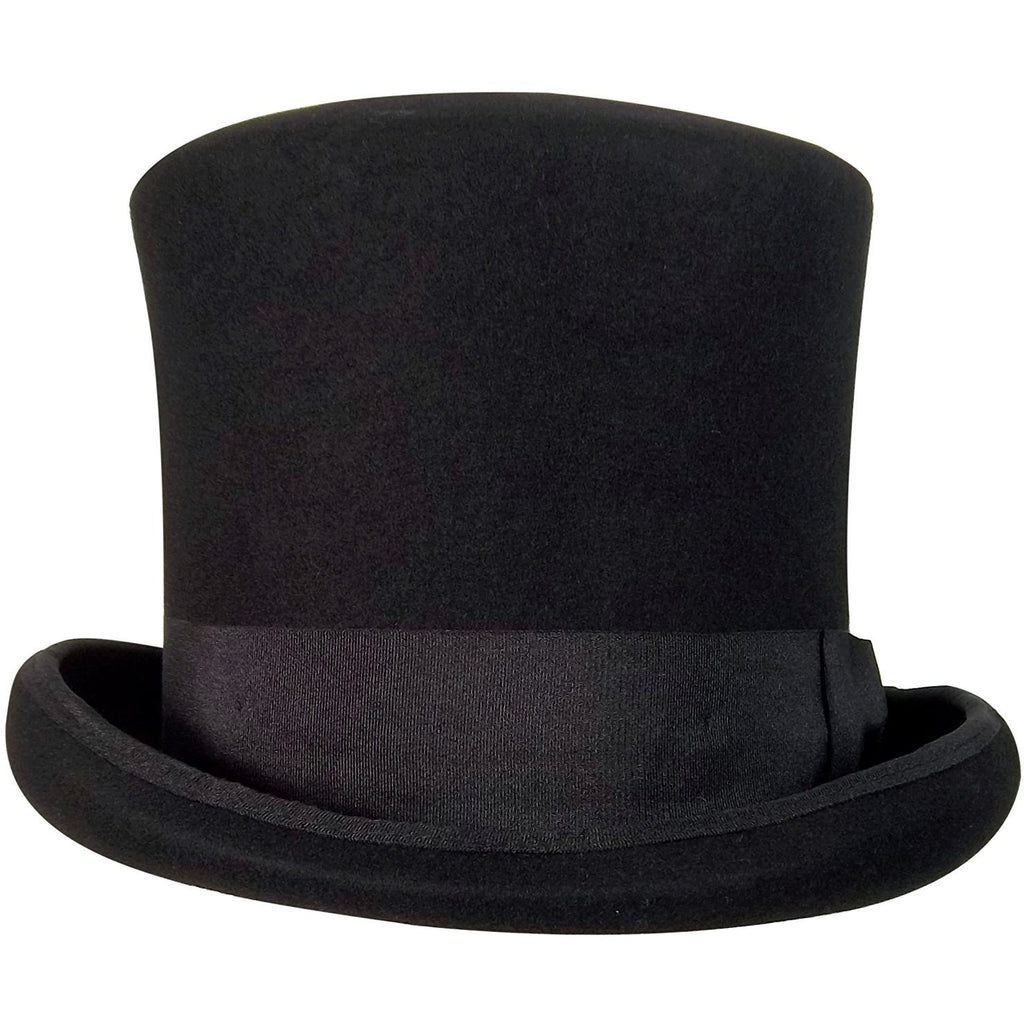 Jacobson Hat Company Wool Felt Flared Top Hat