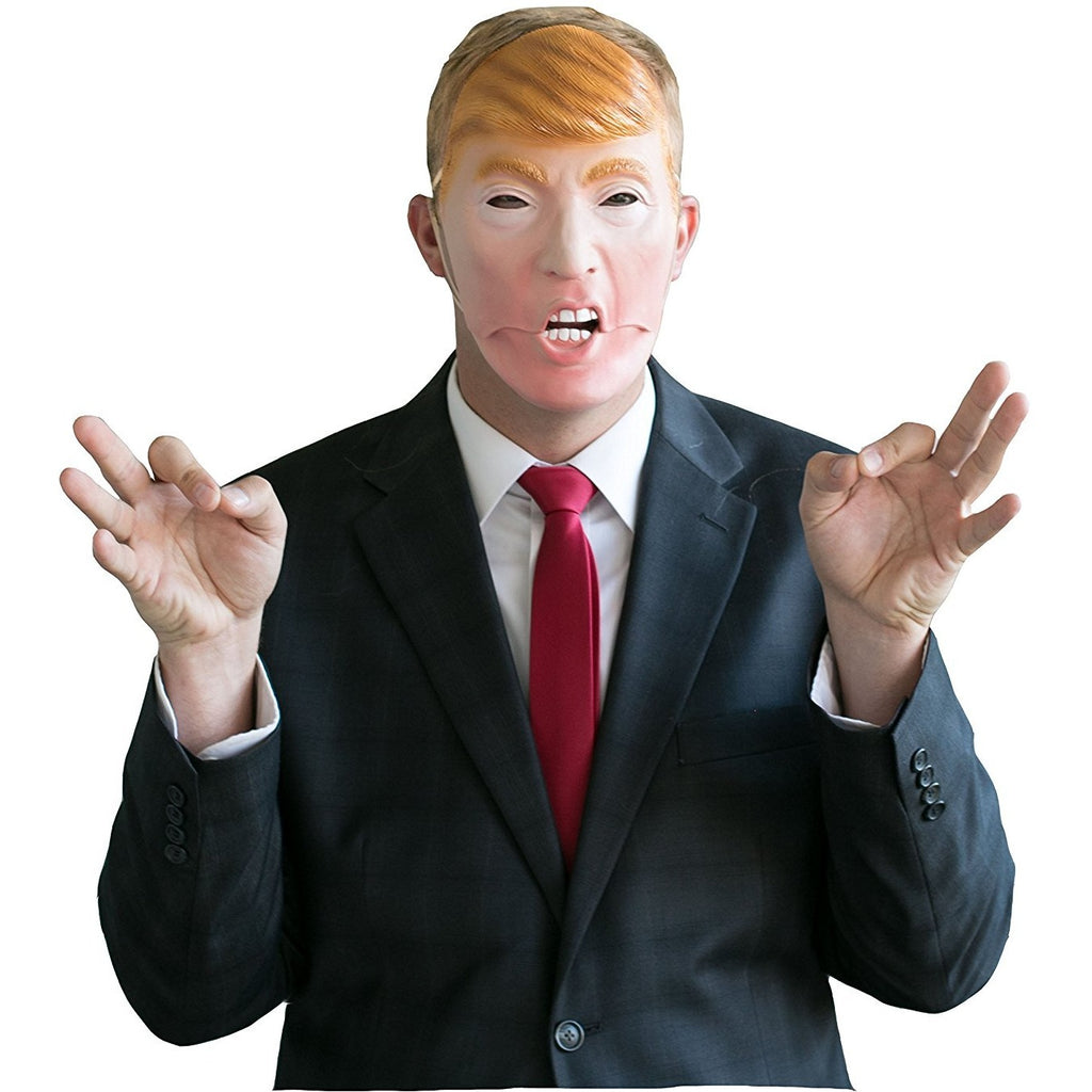 Donald Trump Mask - Mouth Moves when you talk - Funny Mask