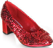 Adult Dorothy Shoes  Red Sequin Wizard of Oz