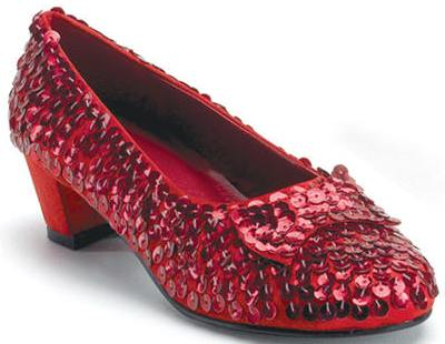 Child Dorothy Shoes  Red Sequin Wizard of Oz