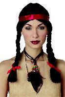 Native American Lady Wig