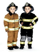Child Fire Fighter Suit Costume