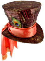 Mad Hatter Hat with Hair - Disney