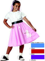 1950's Child Poodle Skirt Costume