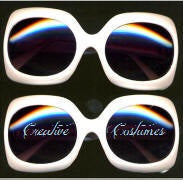 Gangnam Comedian  Style Sunglasses  Jackie O Pearlized White
