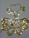 Belly Dancer Necklace/Waist Chain Combo