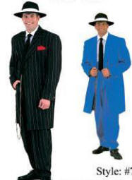 Zoot Suit / Gangster Costume