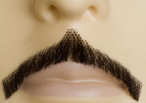 Errol Flynn Moustache- Human Hair