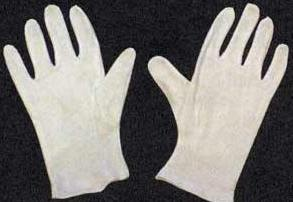 Cotton Glove - Adult 10""