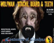 Wolfman 'Stache w/Teeth