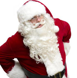 Santa Claus Wig, Beard & Mustache Ultimo Set