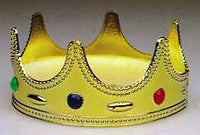 Child King Crown - Jeweled Plastic