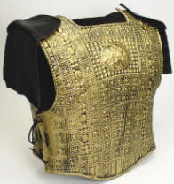 Gold Armor Set w/Shoulder Fasteners