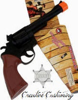 Cowboy Gun & Sheriff Badge Set