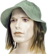 Canvas Hat with Hair