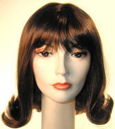 1960s Banged Prom Pageboy Wig