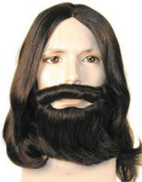 George Harrison/John Lennon  Style Wig or Biblical Wig, Beard & Mustache Set