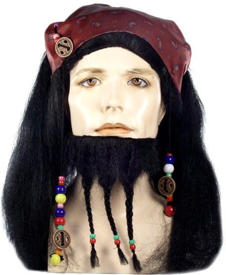 Buccaneer Johnny Depp Pirate Wig