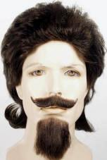 Buffalo Bill  Wig, Mustache & Goatee Set