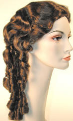 Southern Belle Wig-Ms. Scarlett with skin top