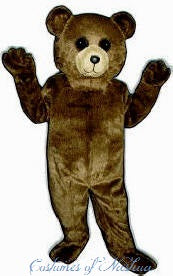 Toy Teddy Bear Costume Mascot