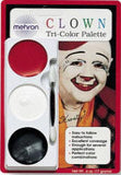 Mehron Tri Color Clown  Makeup Palette
