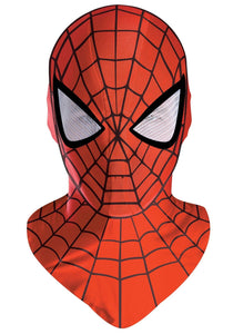 Deluxe Spiderman Mask - Fabric