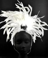 Feather Showgirl Headband