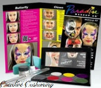 Paradise Makeup AQ  8-Color Palette Face Painting Kit