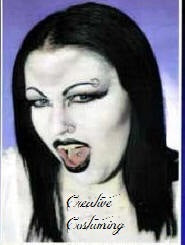 Goth Punk Gothic Character  Make Up Kit