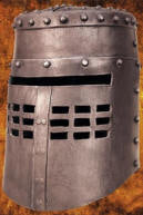Spamalot Black Knight Helmet