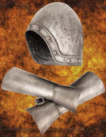 Spamalot French Taunter Helmet With Vambraces