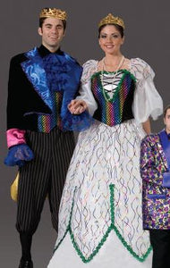 Mardi Gras King Costume (Left)