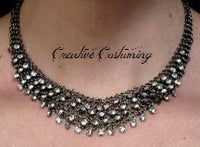 Victorian Rhinestone Necklace