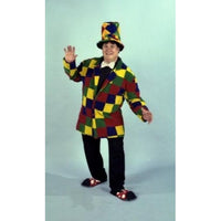 Velvet Patchwork Clown Jacket